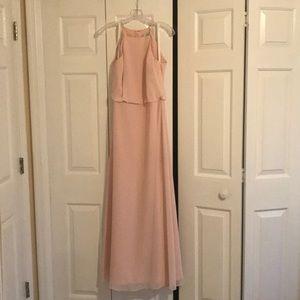 Bill levkoff petal pink dress size 8!